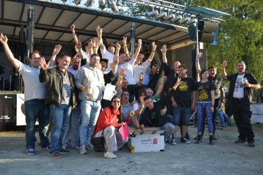 Firma Brož - největší zastoupení na Truck show Lužnice 2014
